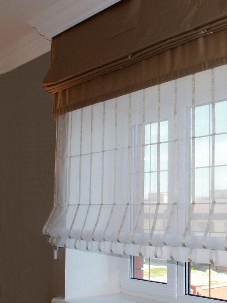 Римские шторы день/ночь