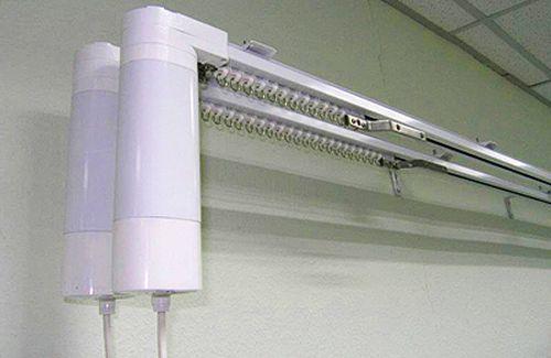 карнизы для штор с электроприводом
