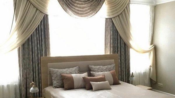 Комплект шторы, покрывало подушки