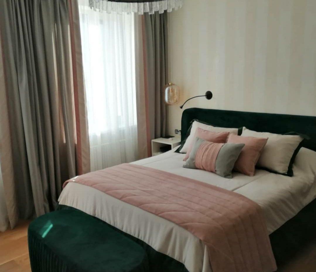Комплект покрывало и декоративные подушки